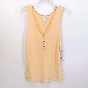 We The Free Casual Split V Neck Stretchy Tank Top